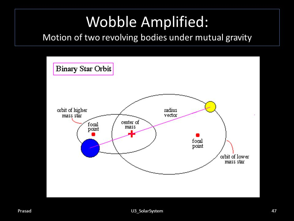 Wobble Amplified: Motion of two revolving bodies under mutual gravity