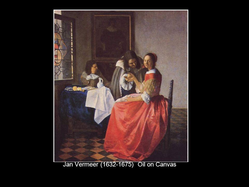 Jan Vermeer (1632-1675) Oil on Canvas