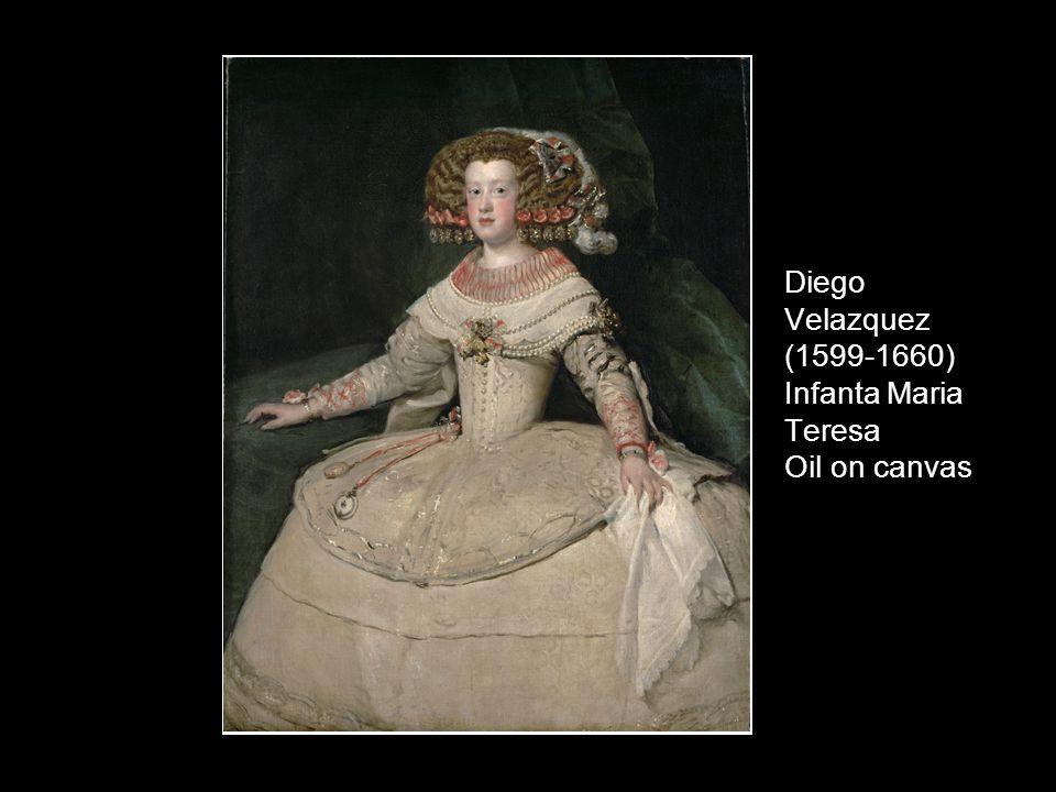Diego Velazquez (1599-1660) Infanta Maria Teresa Oil on canvas
