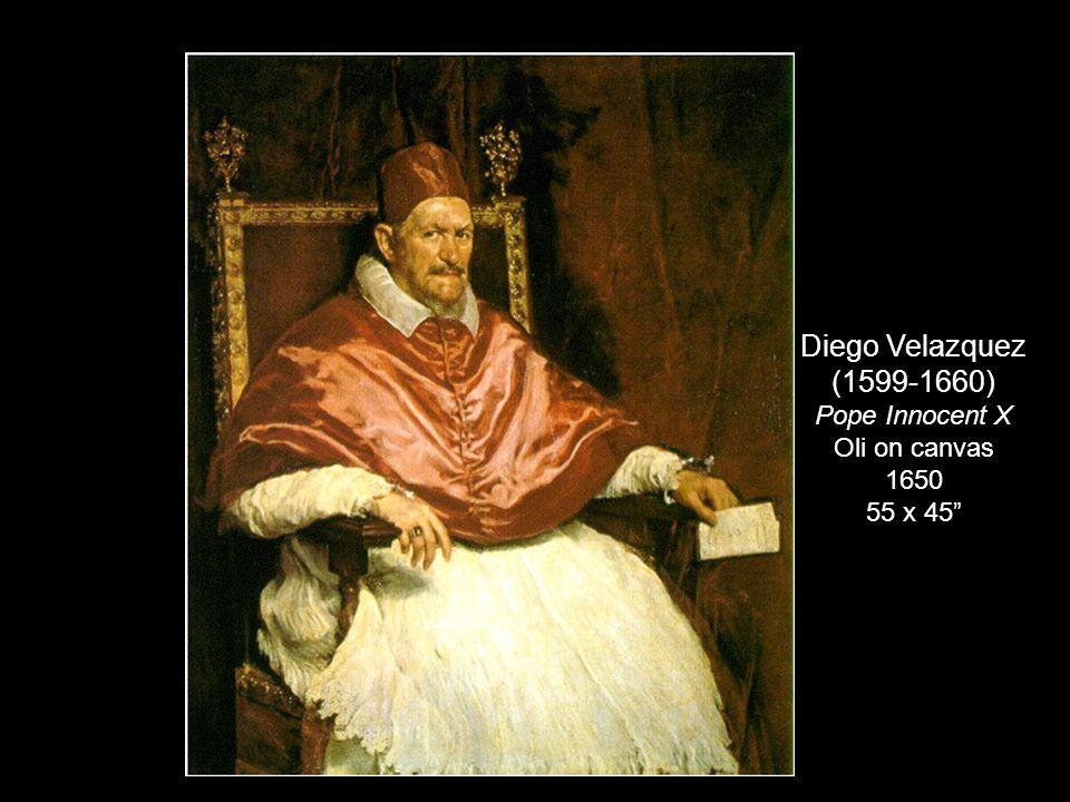 Diego Velazquez (1599-1660) Pope Innocent X