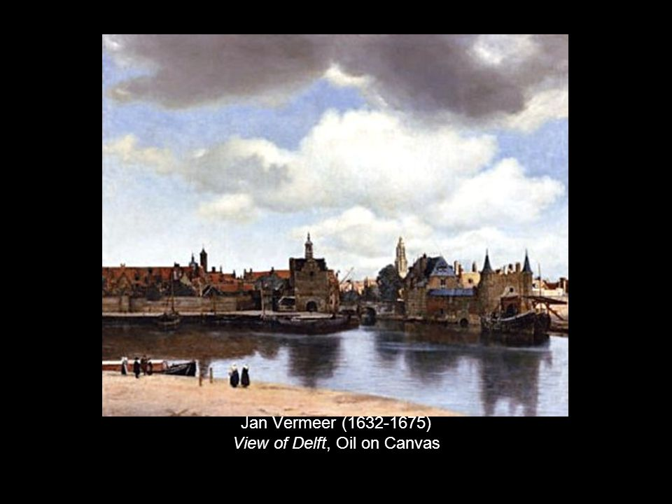 Jan Vermeer (1632-1675) View of Delft, Oil on Canvas