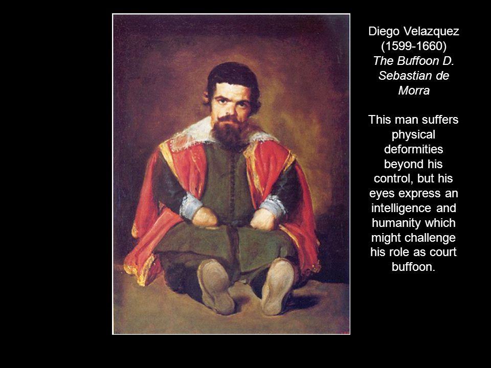 Diego Velazquez (1599-1660) The Buffoon D. Sebastian de Morra