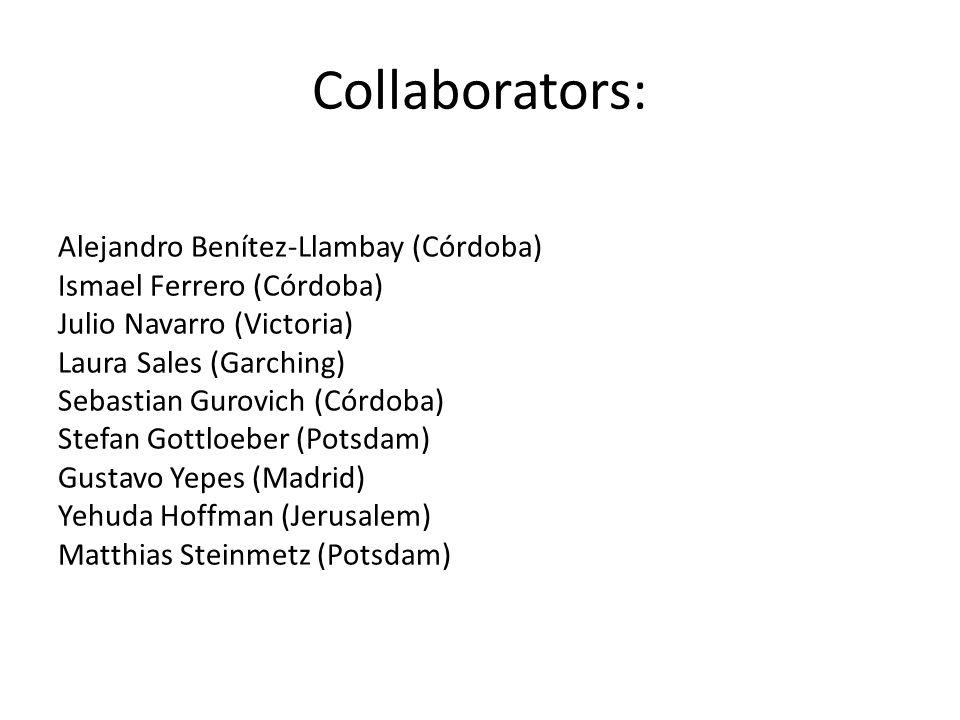Collaborators: Alejandro Benítez-Llambay (Córdoba)