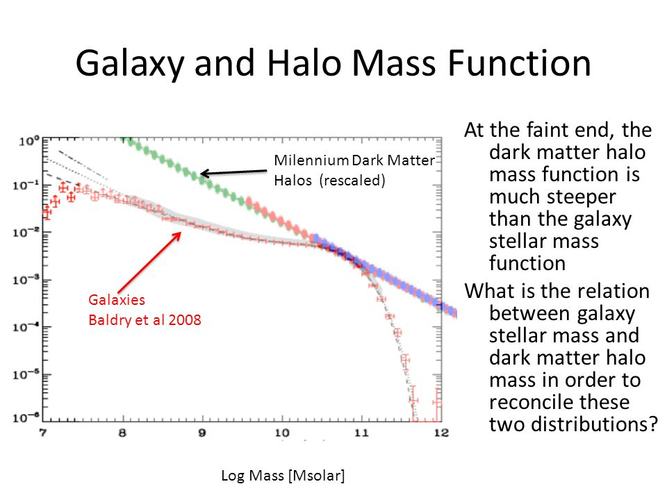 Galaxy and Halo Mass Function