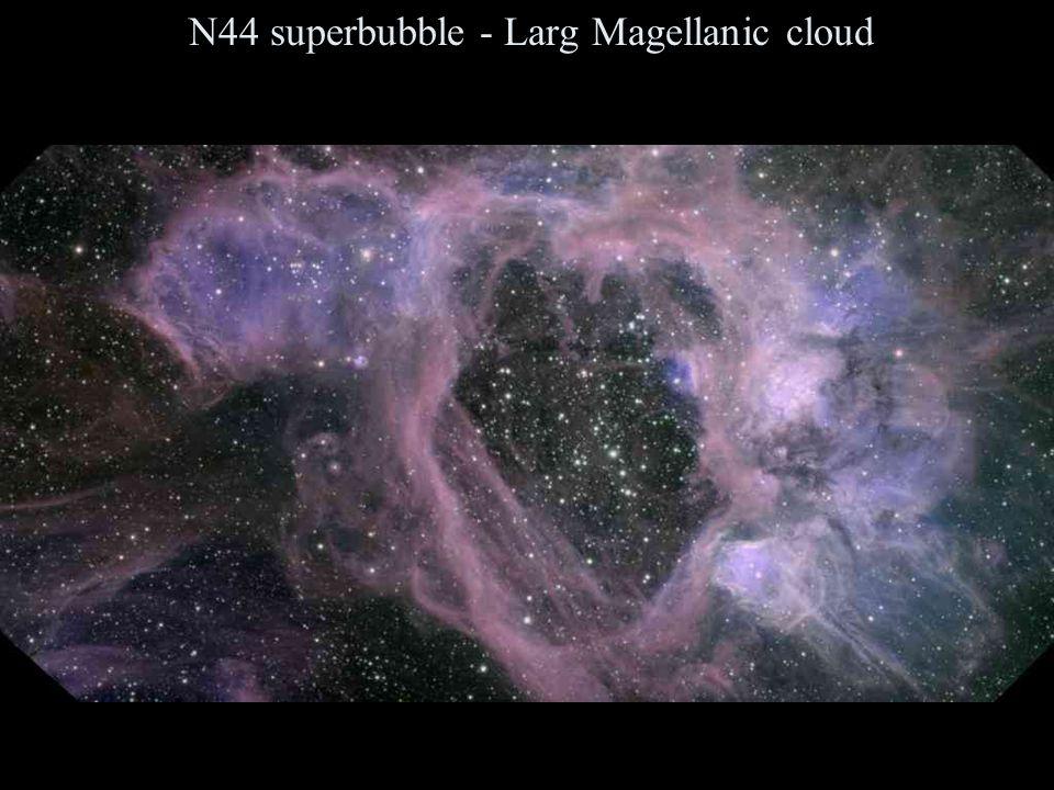 N44 superbubble - Larg Magellanic cloud