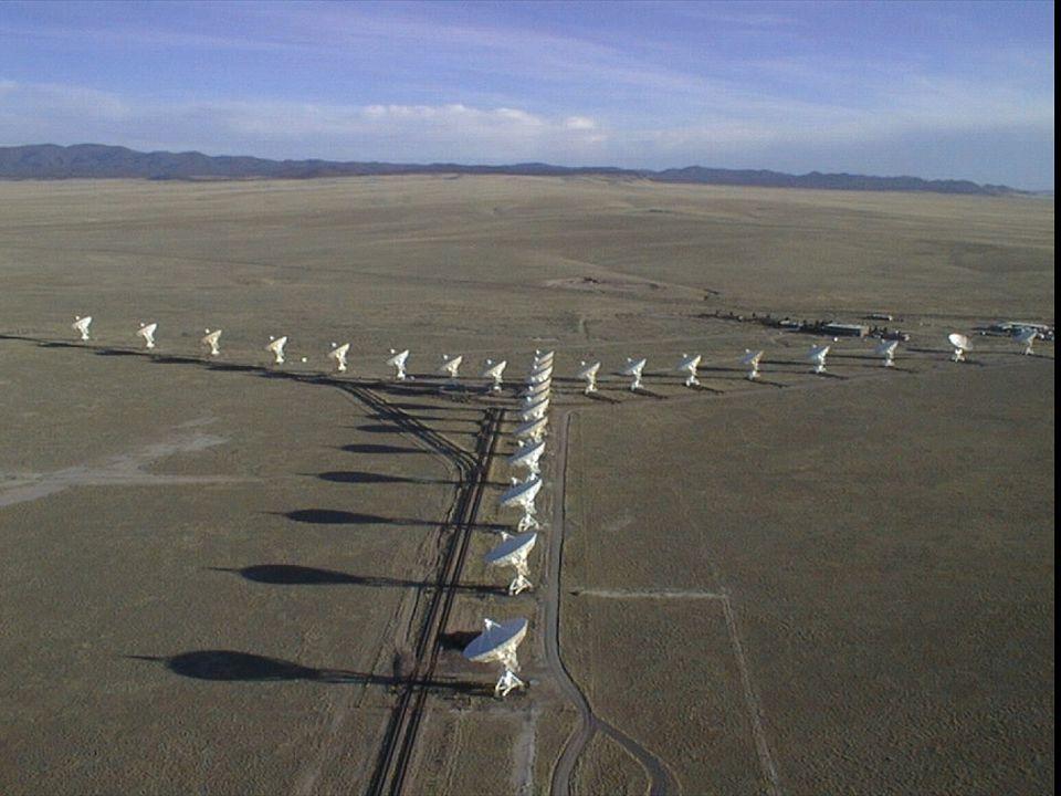 Very large array, Soccoro, New Mexico
