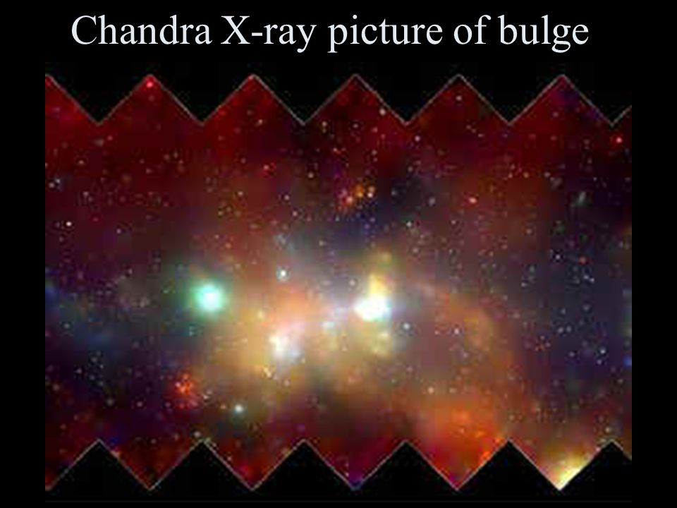 Chandra X-ray picture of bulge