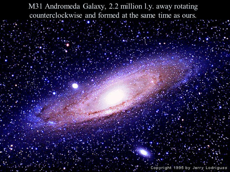 M31 Andromeda Galaxy, 2. 2 million l. y