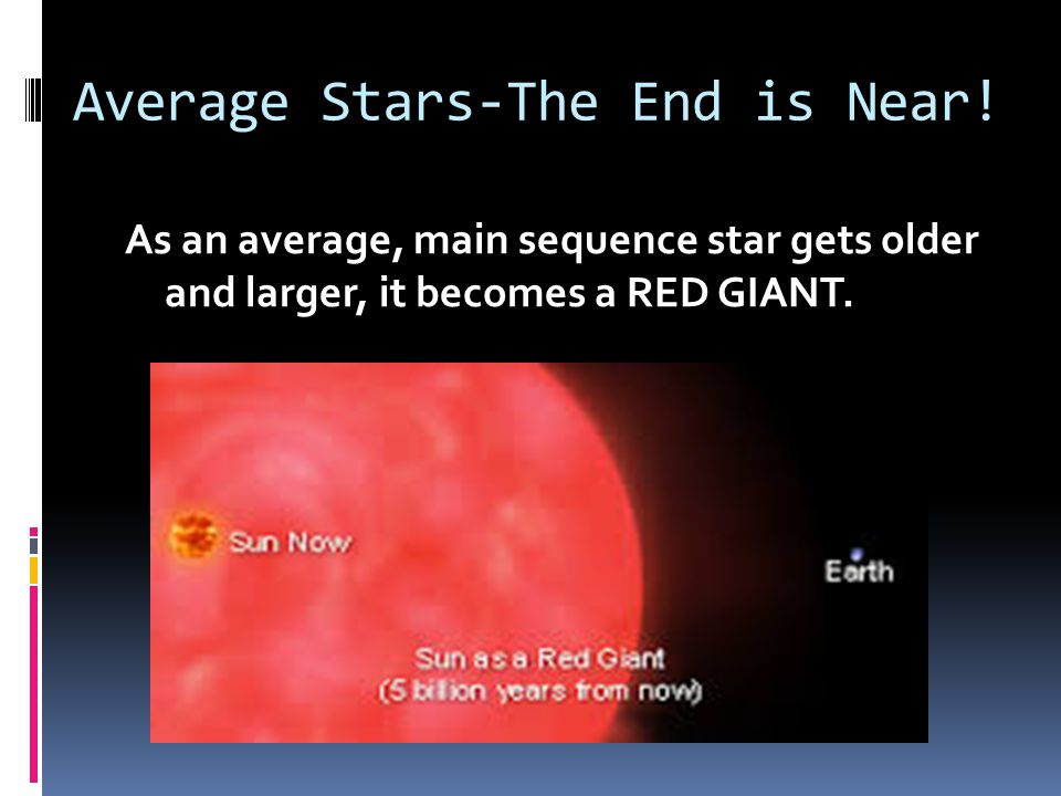 Average Stars-The End is Near!