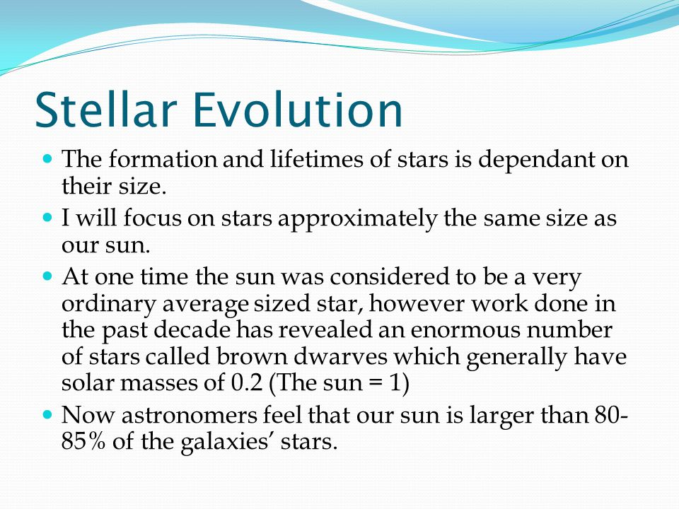 Lives of Stars Stellar Evolution ppt download – Stellar Evolution Worksheet