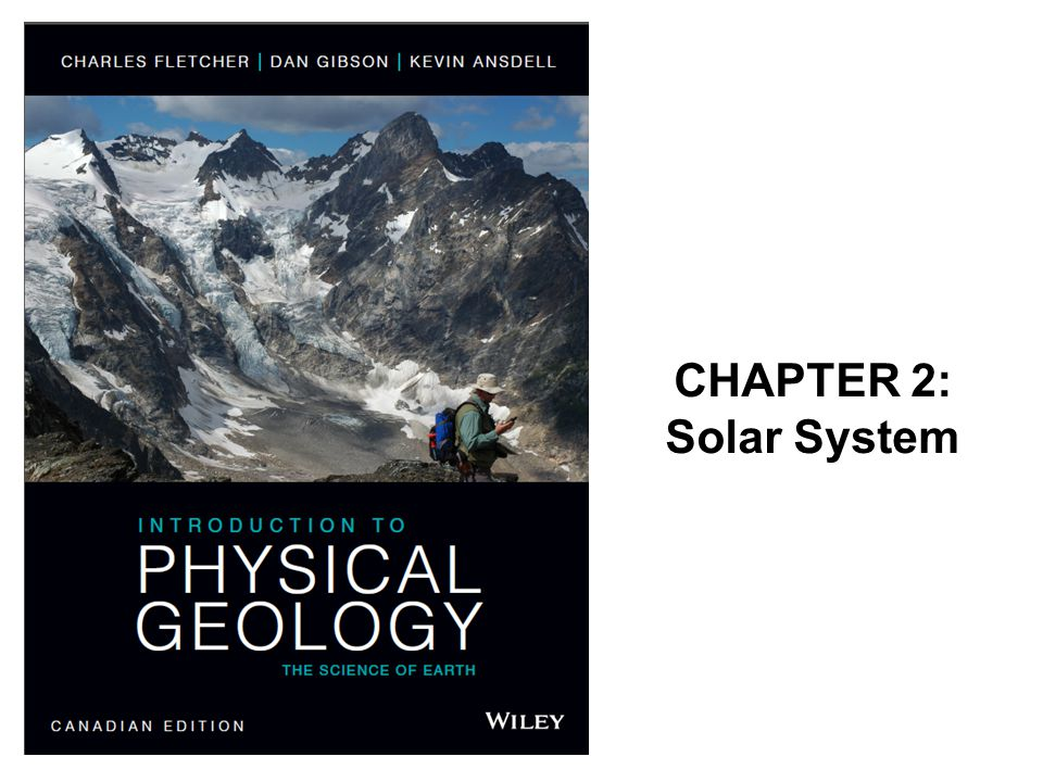 CHAPTER 2: Solar System