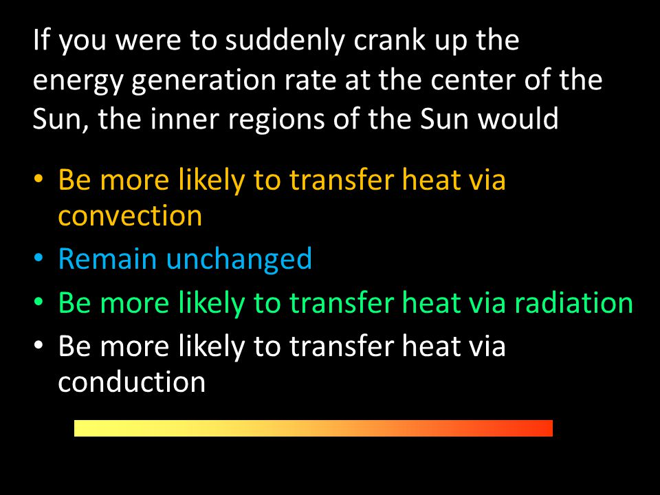 If you were to suddenly crank up the energy generation rate at the center of the Sun, the inner regions of the Sun would