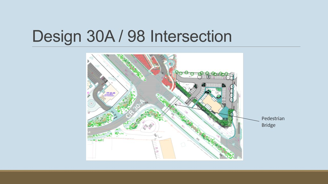 Design 30A / 98 Intersection