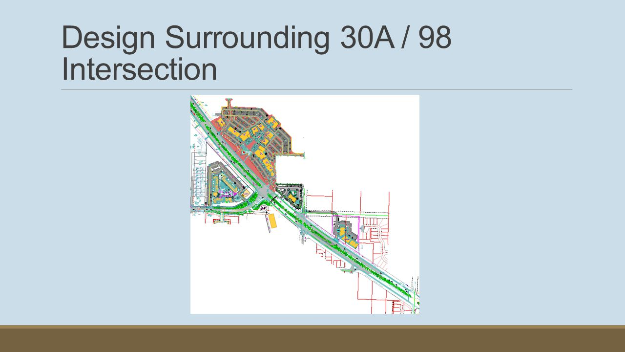 Design Surrounding 30A / 98 Intersection