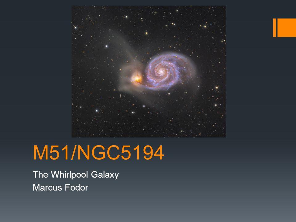 The Whirlpool Galaxy Marcus Fodor