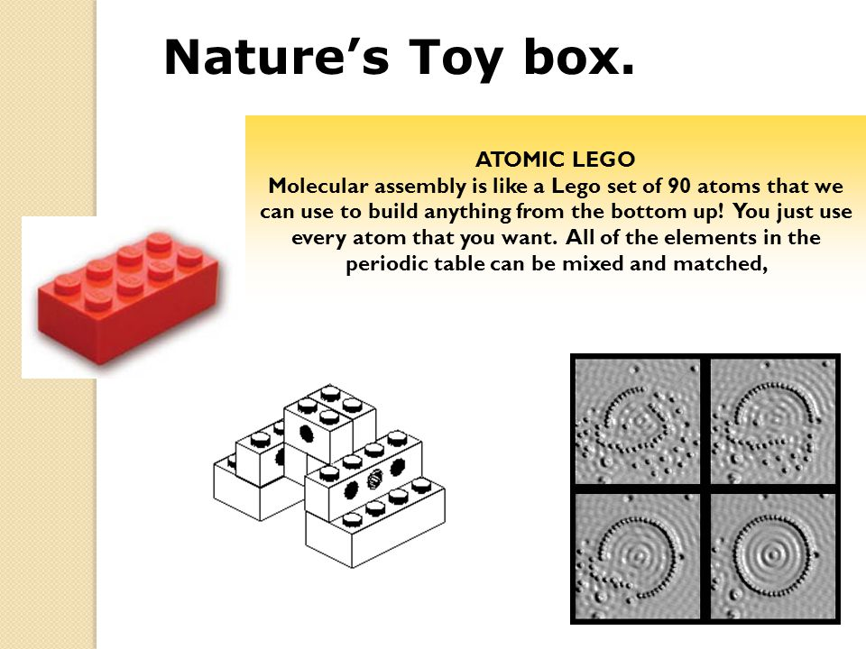 Nature's Toy box. ATOMIC LEGO