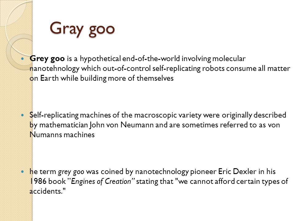 Gray goo