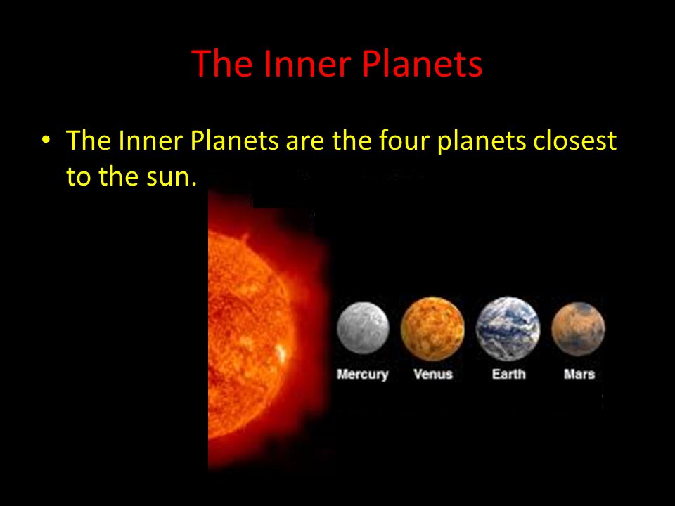 planets in order closest to the sun - photo #4