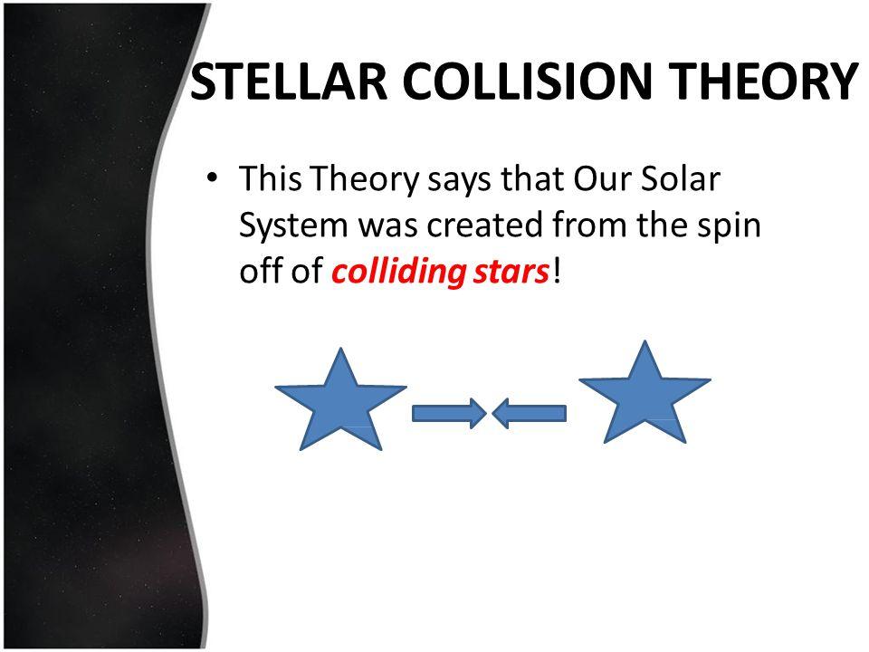 STELLAR COLLISION THEORY