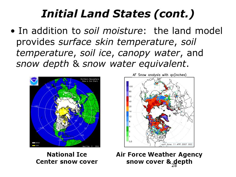 Initial Land States (cont.)