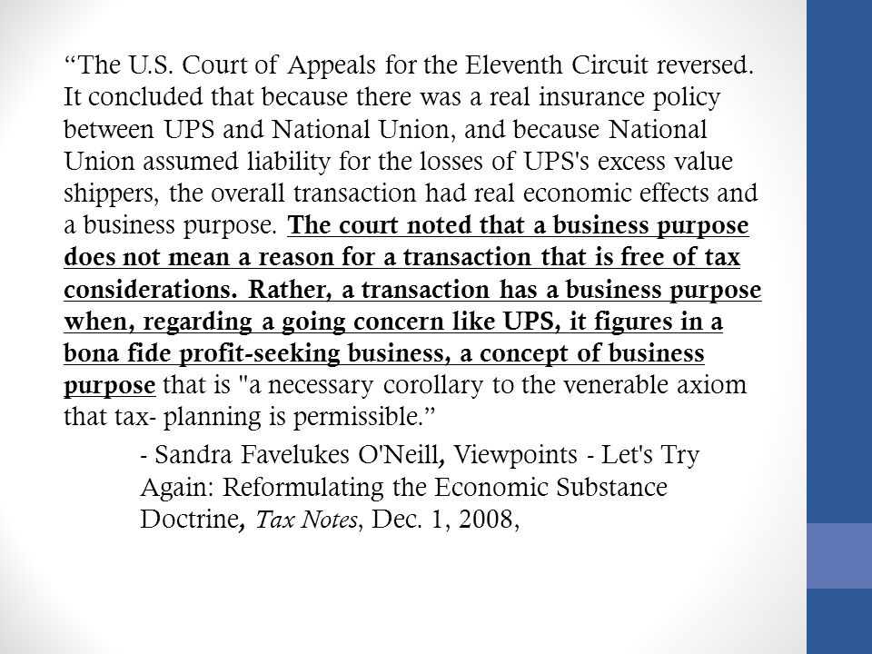 The U. S. Court of Appeals for the Eleventh Circuit reversed