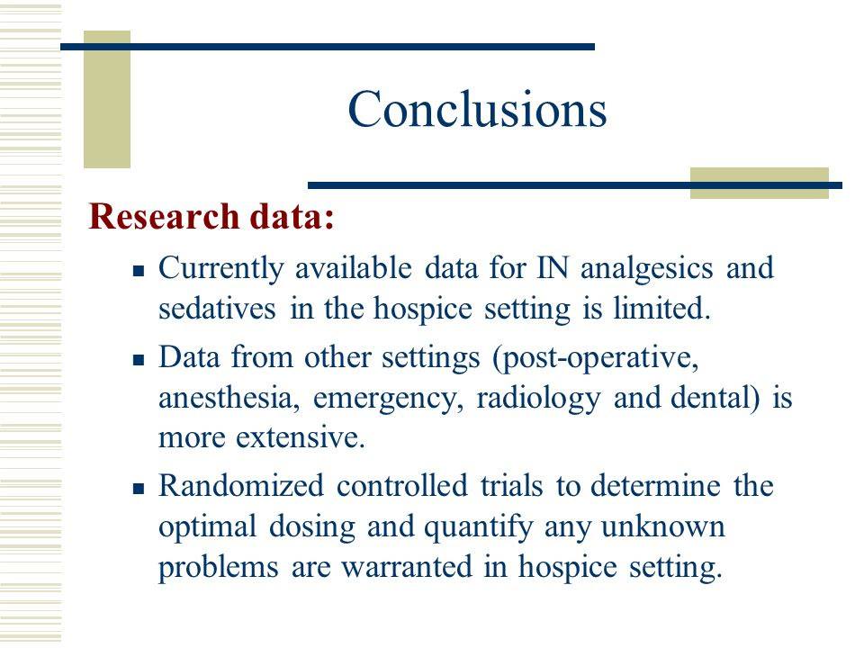 Conclusions Research data: