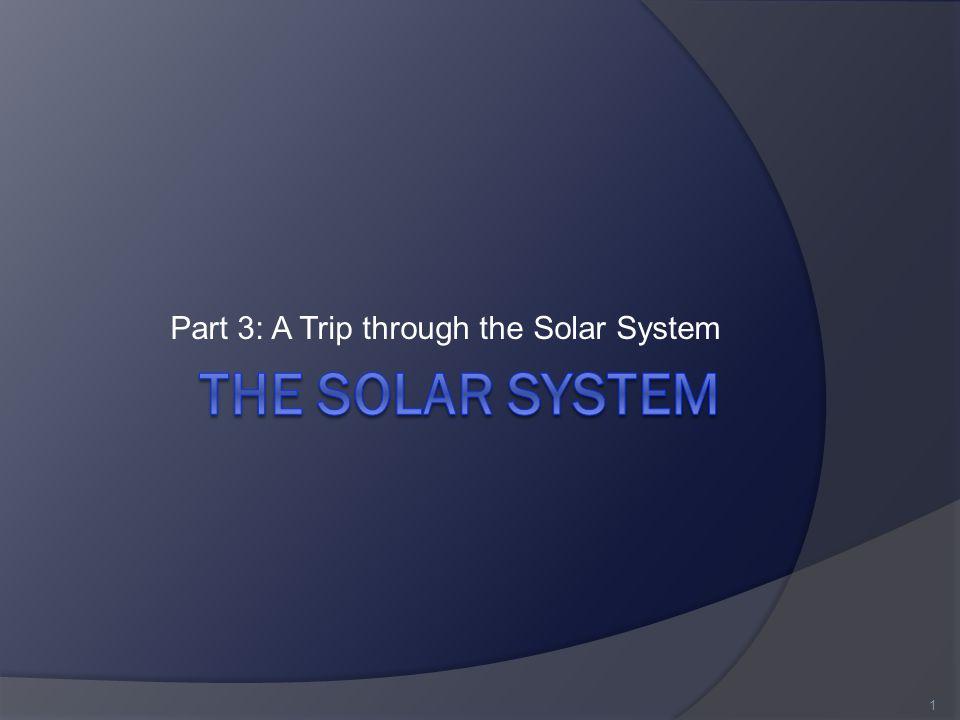 Part 3: A Trip through the Solar System