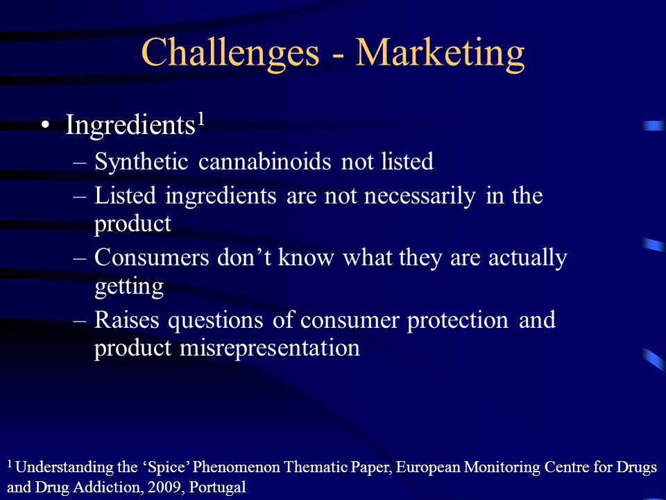 Challenges - Marketing