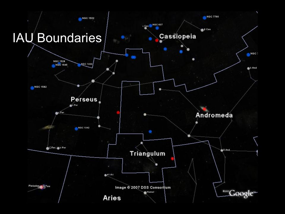 IAU Boundaries