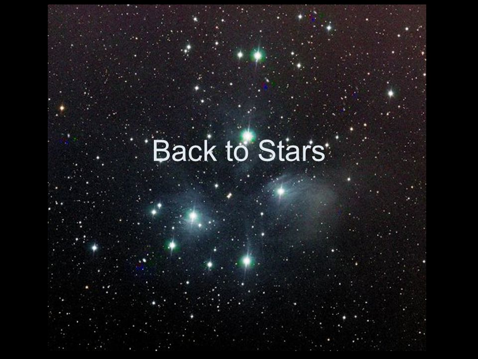Back to Stars
