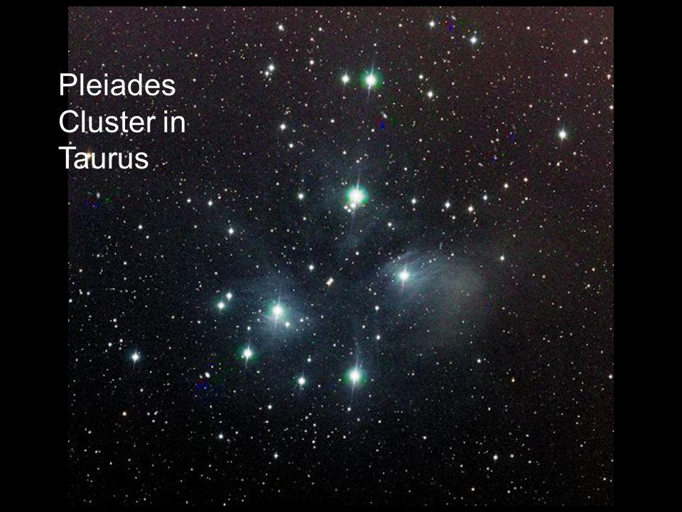 Pleiades Cluster in Taurus