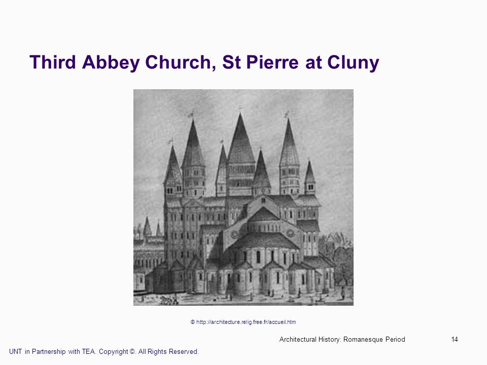 Third Abbey Church, St Pierre at Cluny