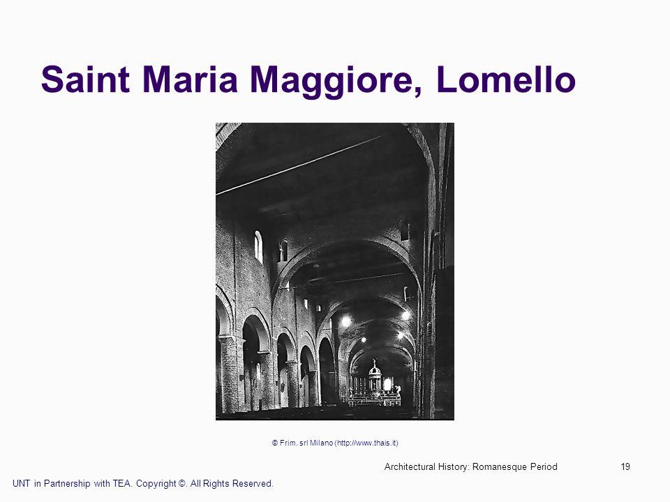 Saint Maria Maggiore, Lomello