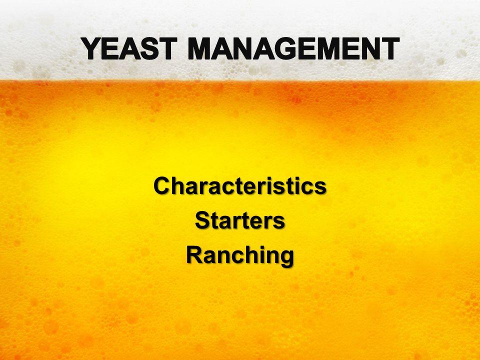 Characteristics Starters Ranching