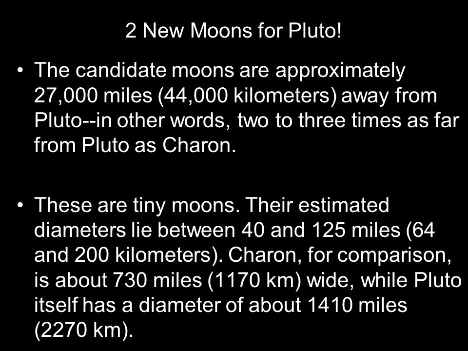 2 New Moons for Pluto!