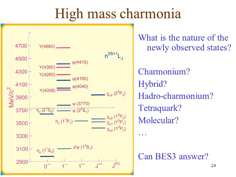 High mass charmonia What is the nature of the newly observed states