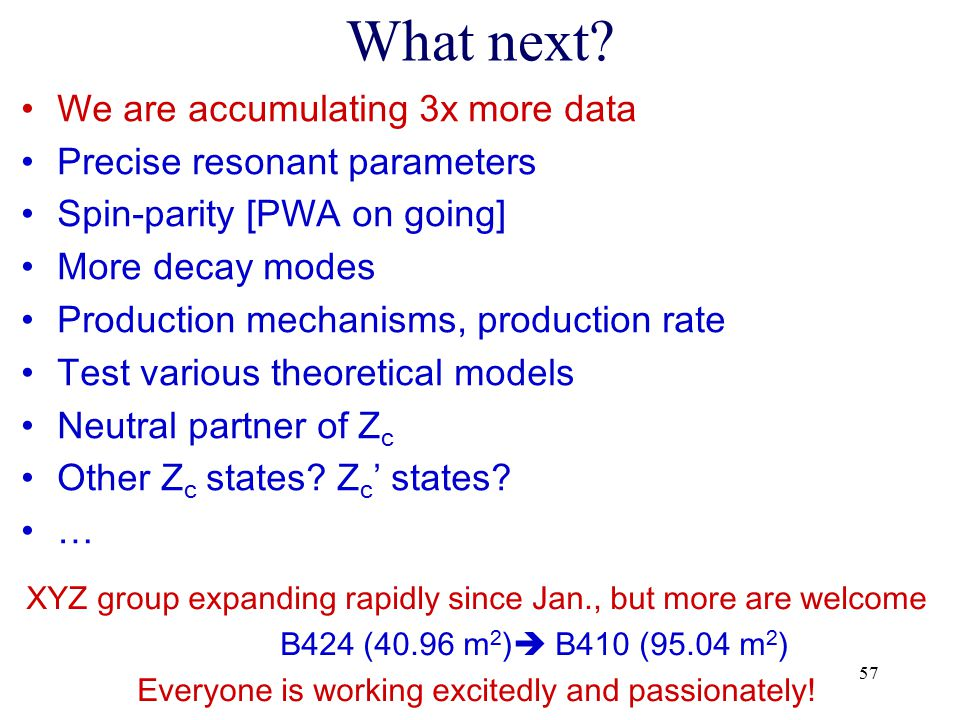 What next We are accumulating 3x more data