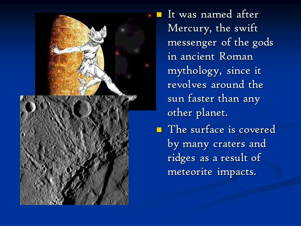 The Mercury Is Named After Greek God Pictures to Pin on ...