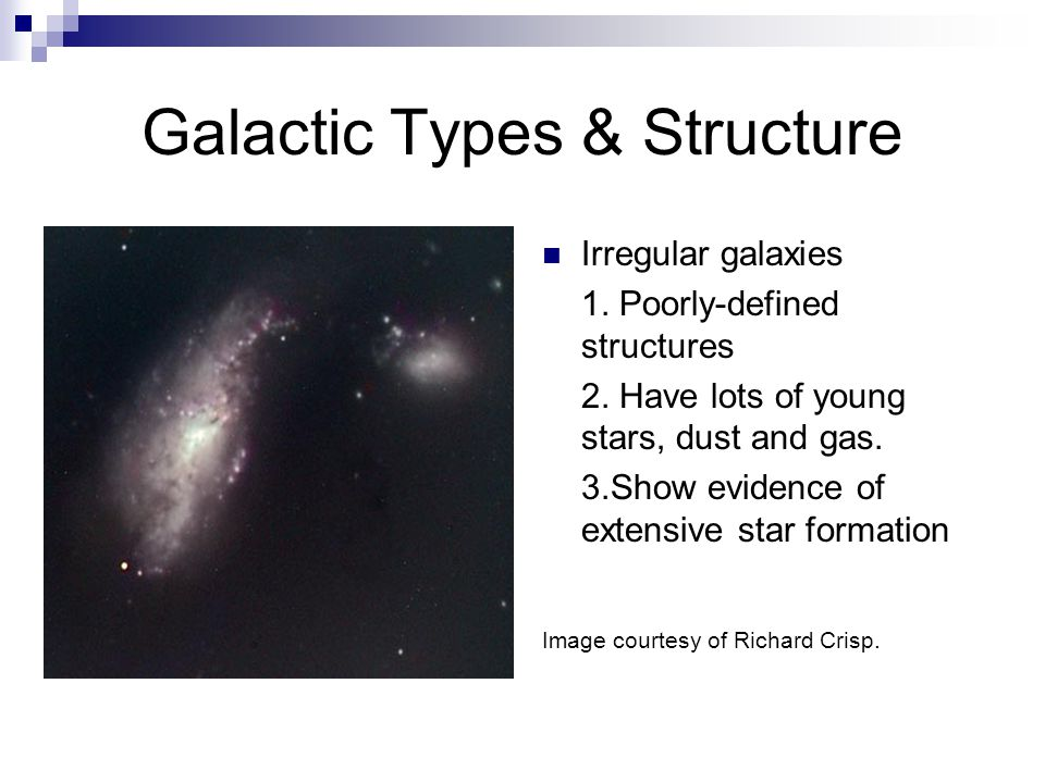 Galactic Types & Structure