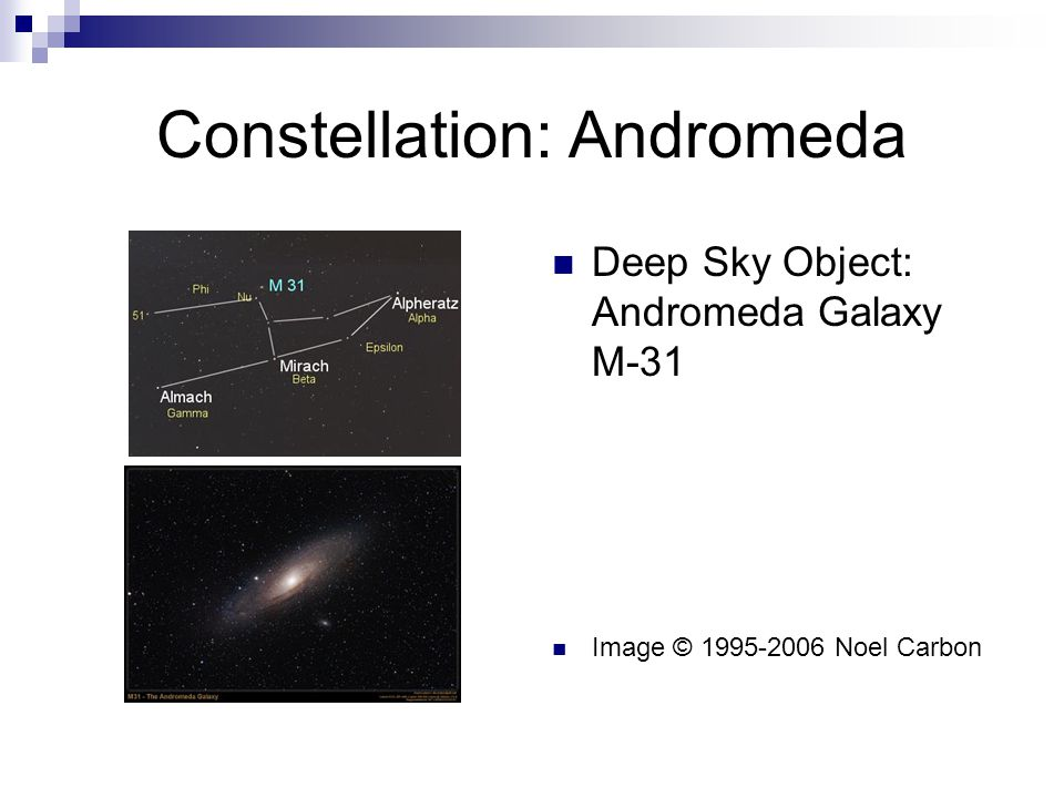 Constellation: Andromeda