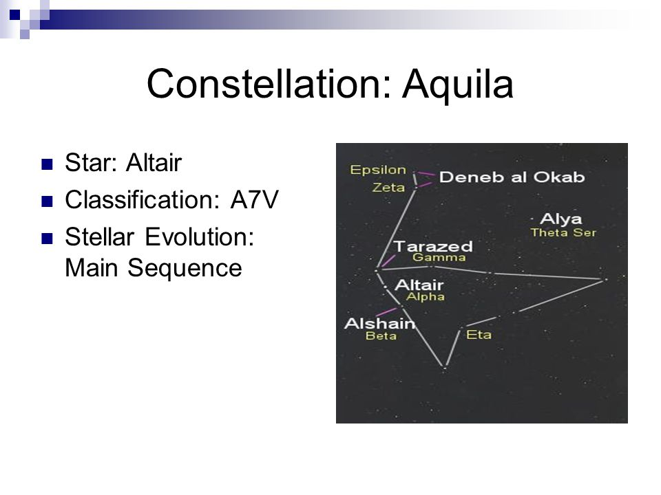 Constellation: Aquila