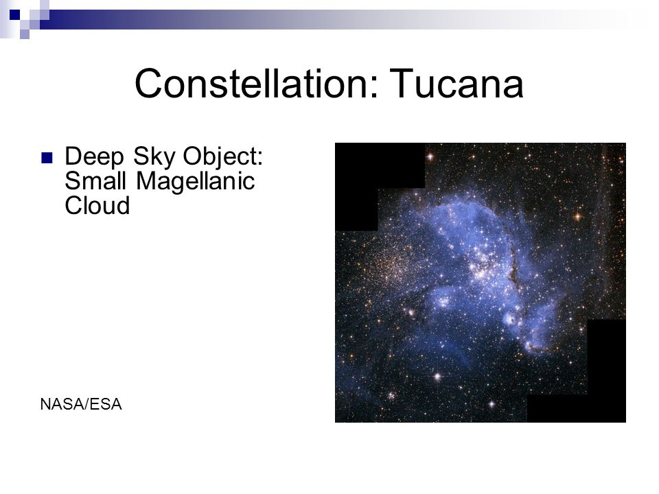 Constellation: Tucana