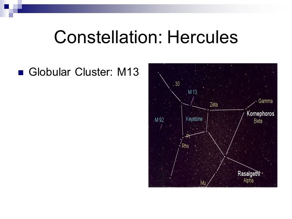 Constellation: Hercules
