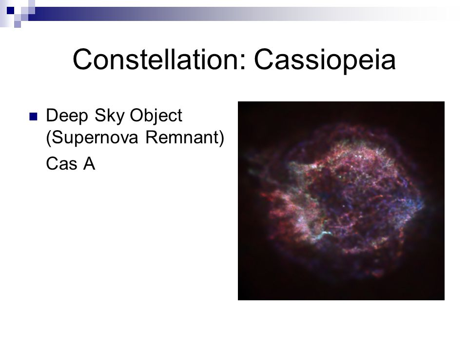 Constellation: Cassiopeia