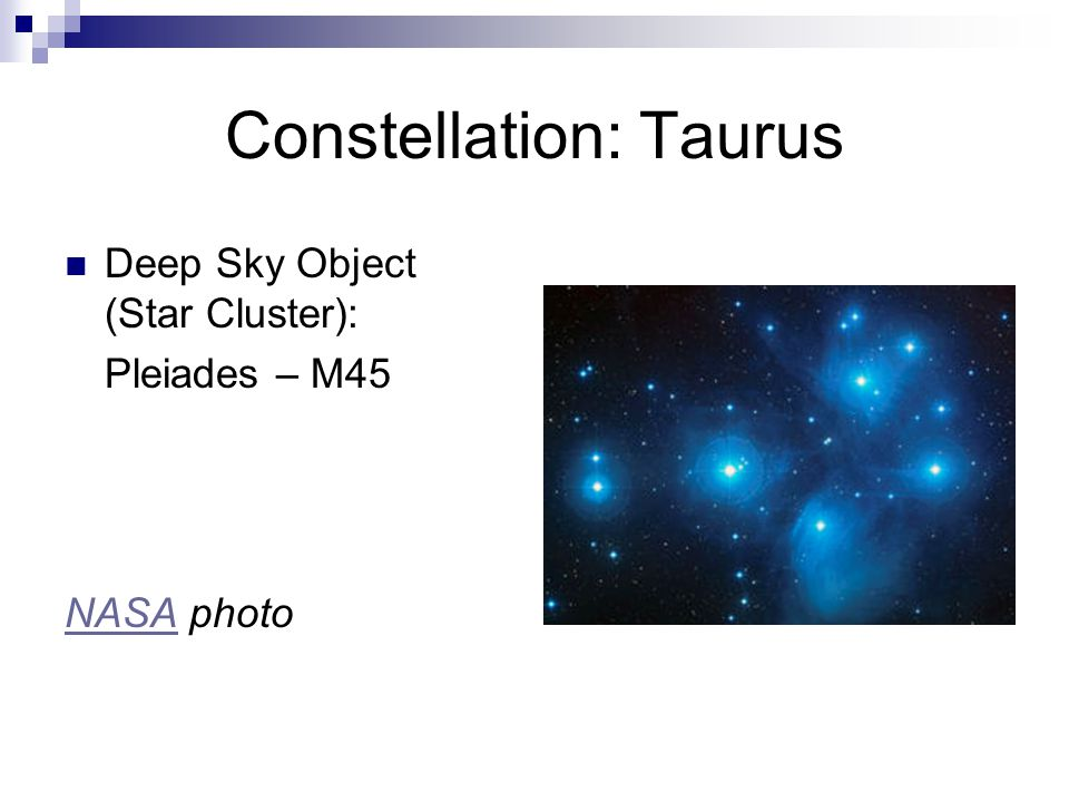 Constellation: Taurus