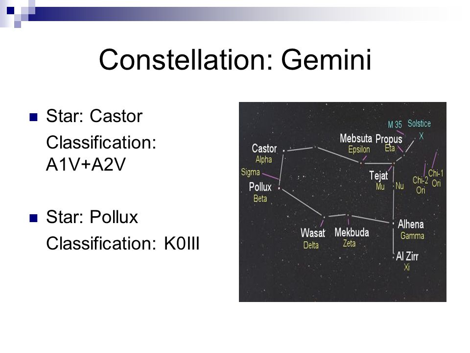 Constellation: Gemini