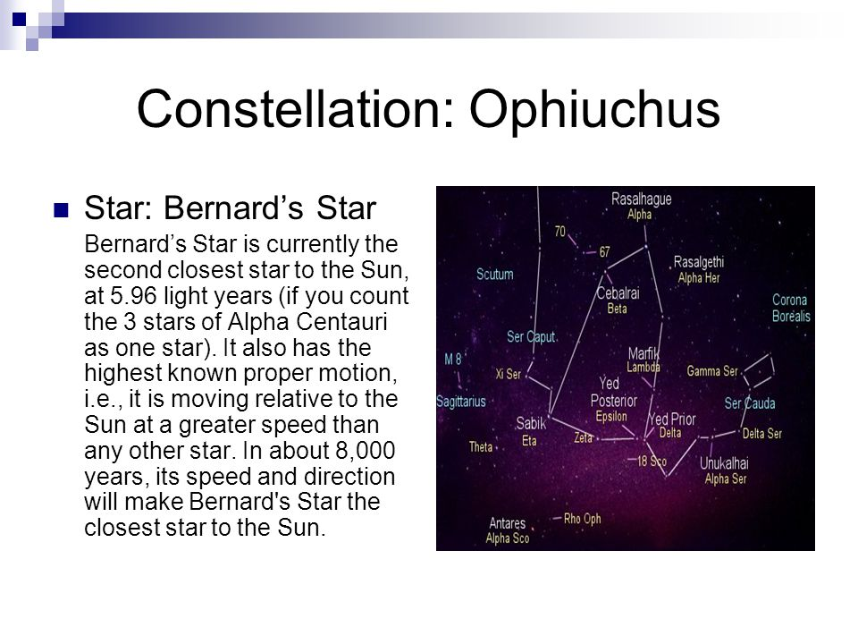 Constellation: Ophiuchus