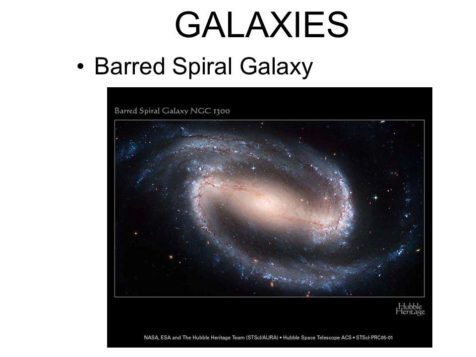 GALAXIES Barred Spiral Galaxy