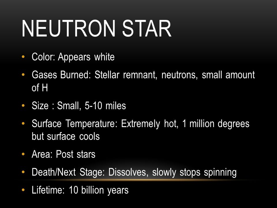 Neutron Star Color: Appears white
