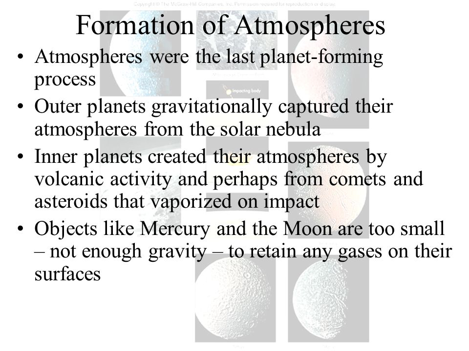 Formation of Atmospheres